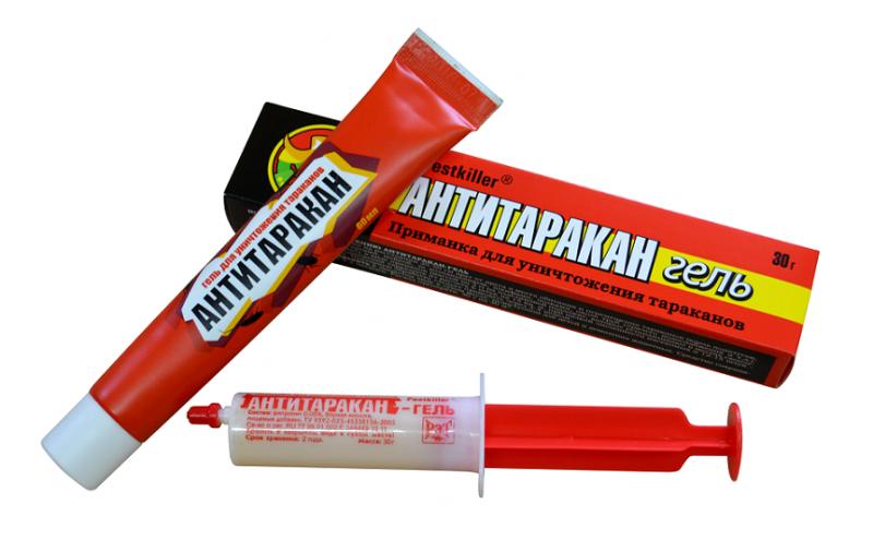 Антитаракан-гель, шприц 30 гр.